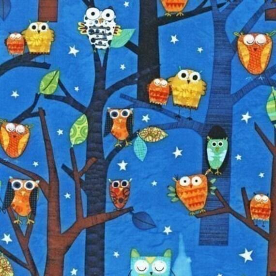 Robert Kaufman's Forest Fun Owls in Spring by Amy Schimler