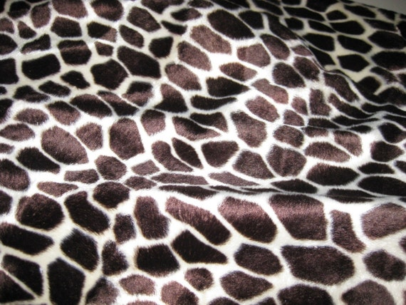 Giraffe Faux Fur - By the Yard