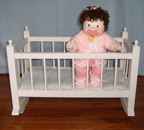 Wooden Doll Cradle - Reserved for Kris Lewis
