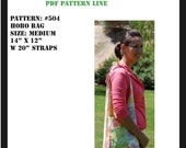 Hobo Bag PDF Pattern MD