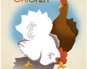 Austin's Funky Chicken Coop Tour poster