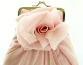 Dusty Pink Rose Purse - Size Small