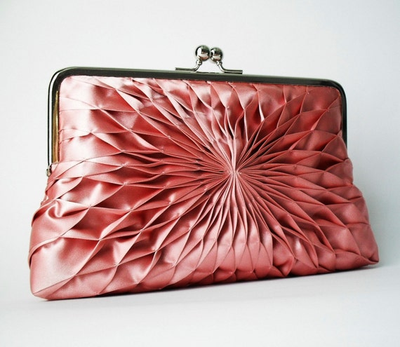 Pink Clutch - Large