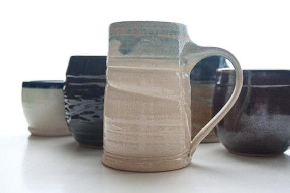 Grande: Wheel-thrown Pottery Coffee Mug