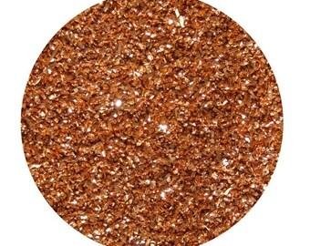 nectarine premium imported german glass glitter, 1/2 ounce, fine 90 grit glitter
