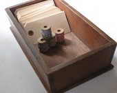 Simple, Vintage Wood Storage Box