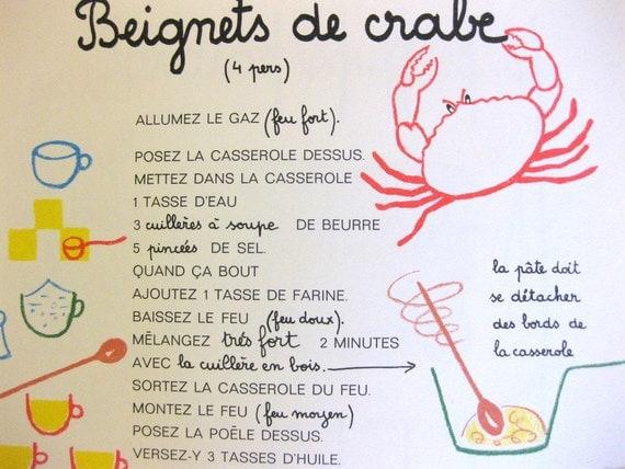 La cuisine est un jeu d 39 enfants french childrens for La cuisine est un jeu d enfant