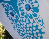 CUSTOM ORDER FOR BECKI- The Owl Towel for local pick up