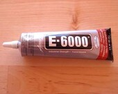 E-6000 - 2 oz Large Tube - Ultimate tool for glue on bails.