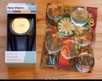 Paper Shapers 1 3/4 Inch Circle Punch - Paper Punch Works With 1 Ounce Gift Tins - Hole Punch - 1-3/4CP