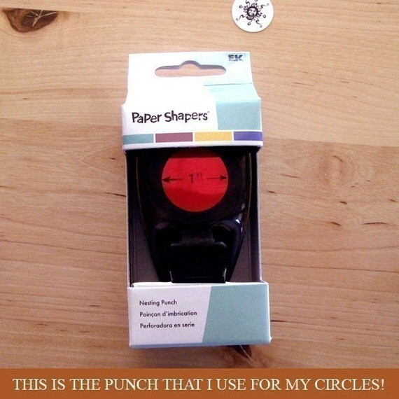 Paper Shapers 1 Inch Circle Punch - Paper Punch Hole Punch - 1CP