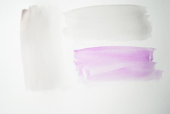 color block in violet and greige