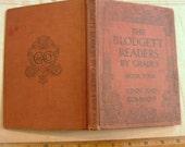 SWEET VINTAGE BOOK...1910 SCHOOLBOOK, BLODGETT READERS, GRADE 4, ILLUSTRATIONS, CLASSICS, STORIES, POEMS