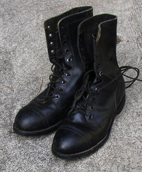 vintage mens boots biltrite lace up by