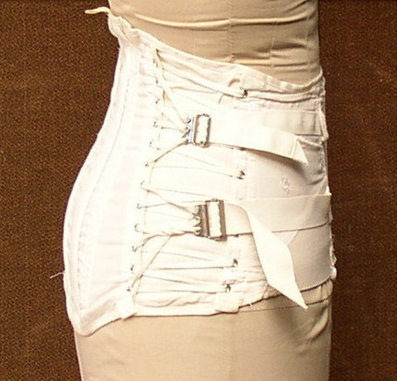 Vintage Laced Hooked Corset Burlesque Medical Device