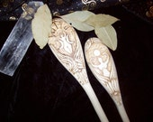 Made to order Goddess Rising Kitchen Wands Set of Two
