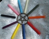 Chime Candles for Color Magick Spells, Rituals or Meditation