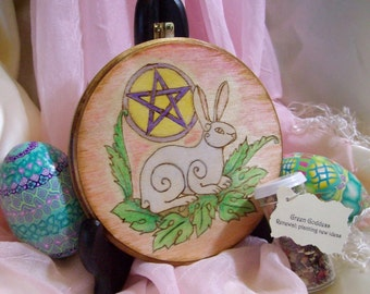 Made to Order Ostara Spring Equinox Altar Tile/Home Decor