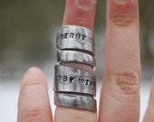 set of derby wife rings