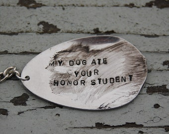 my dog ate your honor student