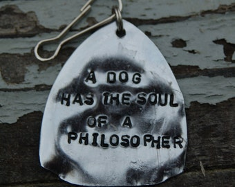 a dog has the soul of a philosopher