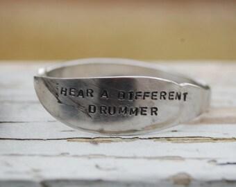 Hear a different drummer