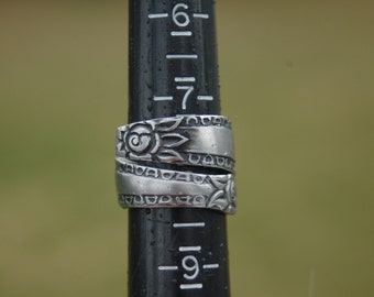two rose band ring