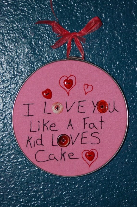 loves cake girl Fat