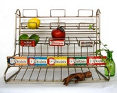 Vintage Wire Display Rack Adams Candy Gum Advertising Industrial decor Storage