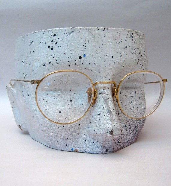Vintage round wire frame eye glasses frames 1920s by ...