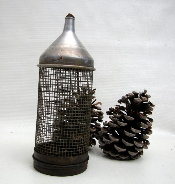 Vintage Cricket Cage Fishing Bait Wire By Chaseandscoutdesign