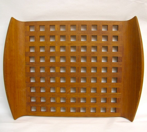 Early Dansk Quistgaard Serving tray Teak Danish Mid Century Modern