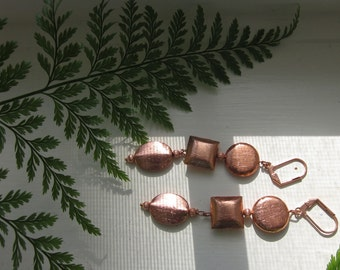 Matinicus Copper Dangle Earrings