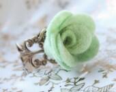 "Flower Ring... ""Mojito"""