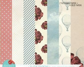 "Digital Scrapbooking Paper Kit... ""The Eliza Kit"""