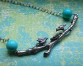 Sweet Baby Birds, Necklace