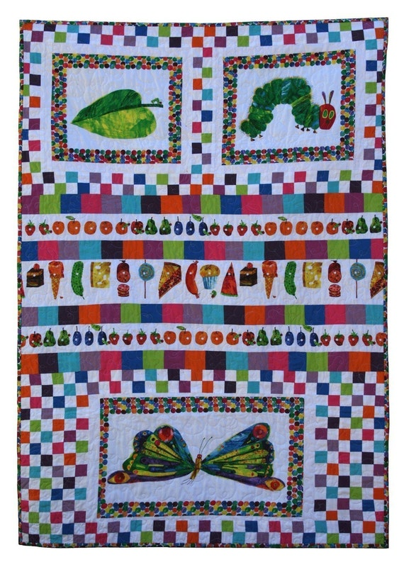 So Hungry Very Hungry Caterpillar Quilt PDF Sewing Pattern