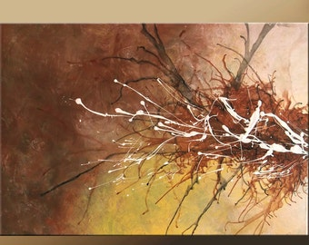 Abstract Art Painting 36x24 Custom MADE TO ORDER Original Modern Contemporary Canvas Art by Destiny Womack - dWo -