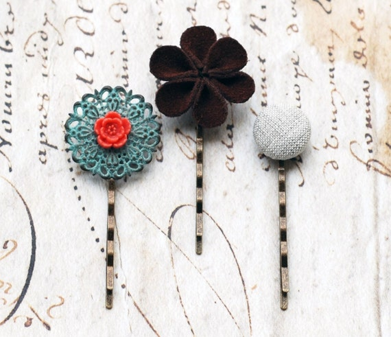 Blossom Set Hair Pins