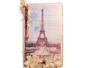 Paris Travel Journal, Parisian Pocketbook Journal, Journal, Trip Log, French Blue, Paris Notebook, April In Paris, Art Journal Notebook