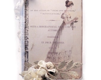 Jane Austen Journal, Northanger Abbey Journal,  Jane Austen Regency Gifts, Gifts for Janeites, Jane Austen Journal