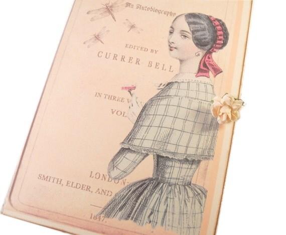 Jane Eyre Card No Net Ensnares Me Pale Pink Greeting Card Literature Paris Pink
