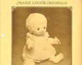 Vintage Marie Louise Originals Cloth Doll Pattern