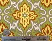 Amy Butler LOTUS TEMPLE GARLAND Lime Quilt Quilt Fabric - Sold by the 1/2 Yard