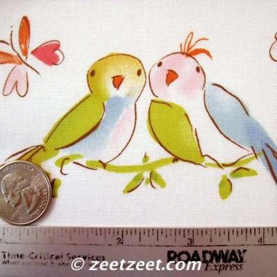 Free Spirit Leanika Love Birds Ivory