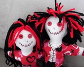 SALE Love Themed Zombie 4 Doll Variety Pack SALE