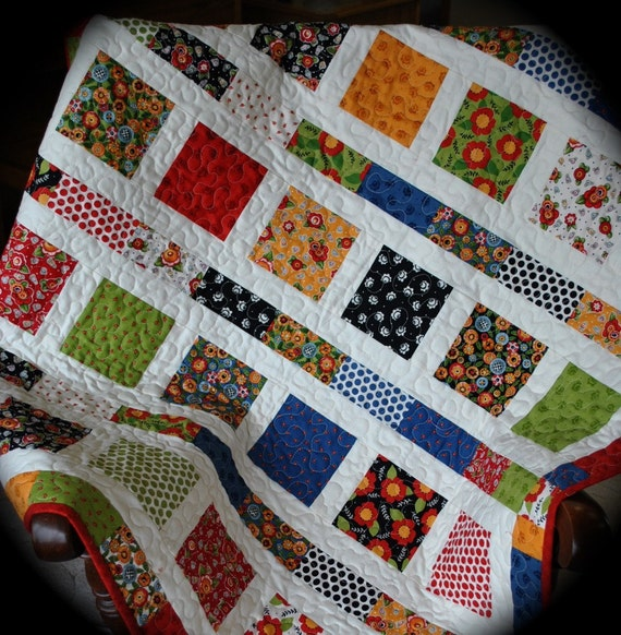 Mary Engelbreit Baby Quilt, Toddler Quilt, MADE TO ORDER