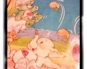 Vintage care bear cousins tablecloth