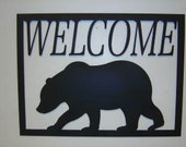 Big Bear Welcome Sign SALE