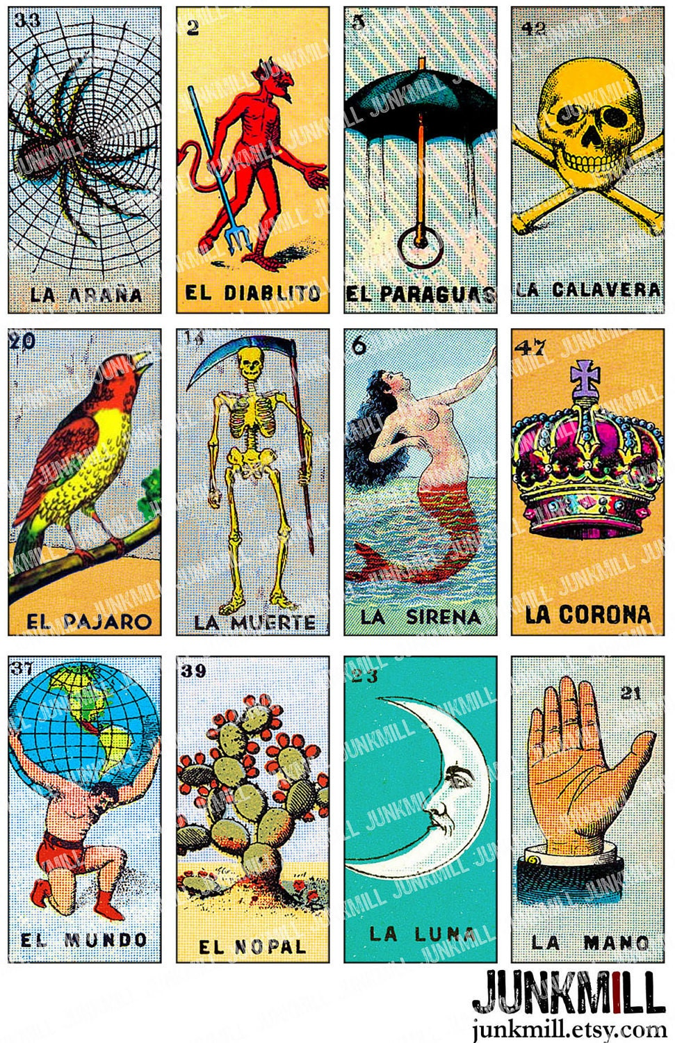 This is a photo of Persnickety Loteria Cards Printable